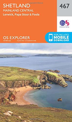 os-explorer-map-467-shetland-mainland-central