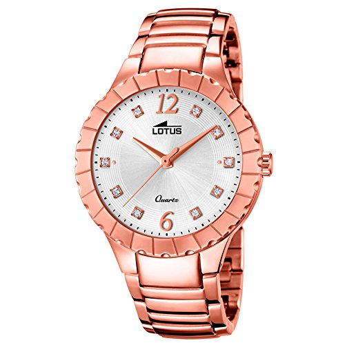 Lotus Trendy 18412/1 Wristwatch for women With Zircons