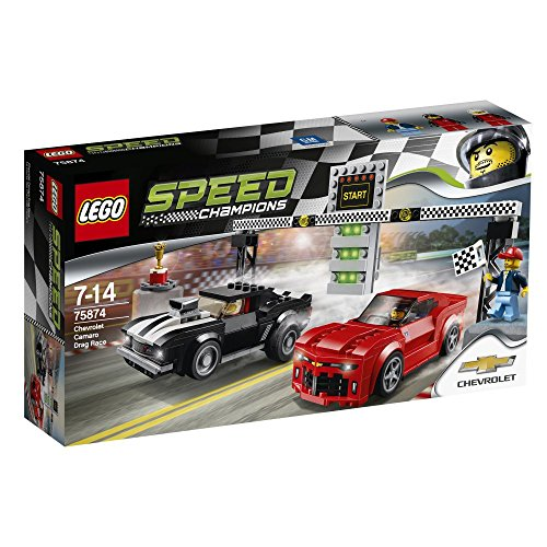 Lego Speed Champions 75874 - Chevrolet Camaro Drag Race