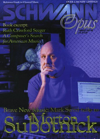 Schwann Opus, Winter 1997/98