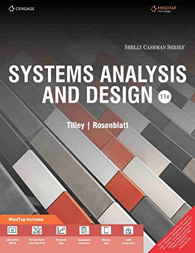 Systems Analysis and Design with MindTap