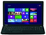Toshiba Satellite C50D-A-133 39,6 cm (15,6 Zoll) Notebook (AMD E1-2100, 1GHz, 4GB RAM, 500GB HDD, AMD HD 8240, DVD, Win 8.1) schwarz