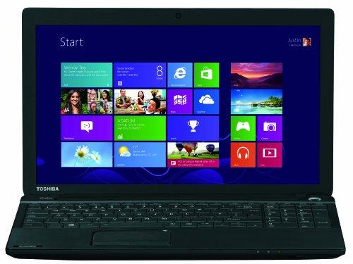 Toshiba Satellite C50D-A-10E 39,6 cm (15,6 Zoll) Notebook (AMD A4-5000, 1,5GHz, 4GB RAM, 500GB HDD, AMD HD 8330, DVD, Win 8) schwarz