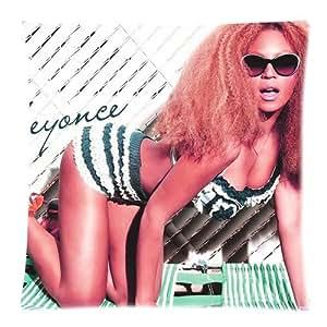 Beyonce Decorative zippee Housse de coussin 45x45 cm Jumeau faces imprimees