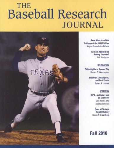Baseball Research Journal (Brj), Volume 39 #2 por Society for American Baseball Research (
