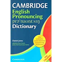 English Pronouncing Dictionary (English and English Edition) by Daniel Jones (2006-07-24)