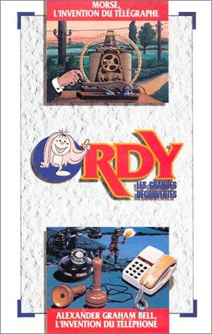 Ordy, les grandes découvertes numéro 4 : Morse, l'invention du télégraphe - Alexander Graham Bell, l'invention du téléphone (VHS)