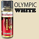 Olympic White Nitrocellulose Guitar Paint / Lacquer 400ml
