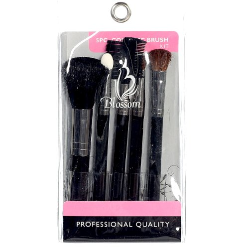 Blossom 5 Piece Cosmetic Brush Kit - Small - Small Brush Kit 5pc.