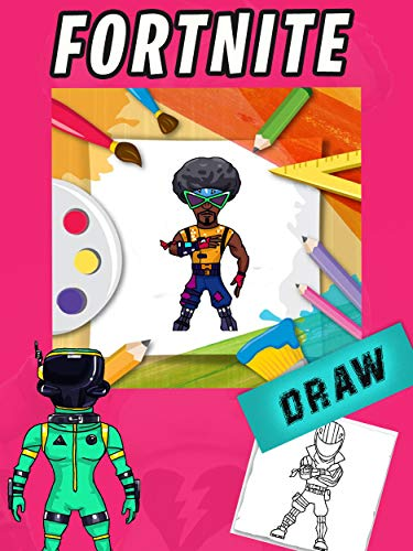 How To Draw Fortnite Skins Cool Tutorial Drawing Ebook Tony Hawk