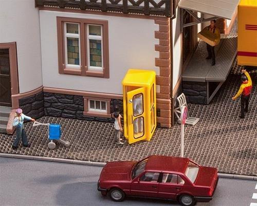 Faller 180955 Telefonzelle Bundespost