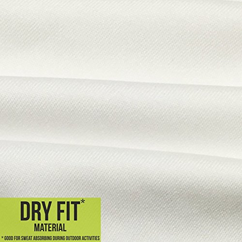 iberrys Men's Dryfit Round Neck Half Sleeve Holi Tshirt (01)