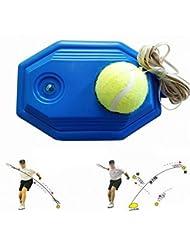 grofitness pelota de tenis máquina de rebote tenis Trainer Set para principiantes