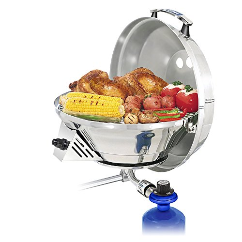 Magma Produkte, marine Wasserkocher 3, Kombination Herd & Gas Grill, Propan tragbar Ofen