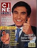 CINE TELE REVUE [No 10] du 09/03/1989 - J.P. FOUCAULT - COTE OUEST - ALAIN DELON - JEAN-LUC GODARD - PAUL CARAFOTES
