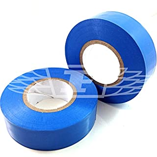1 x PALE BLUE ELECTRICAL PVC INSULATION / INSULATING TAPE 19mm x 20m - FLAME RETARDANT