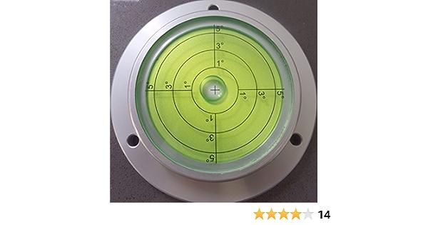 12 mm de diam/ètre 5 Niveau /à bulle d/'Air Circulaire Bulls Eye