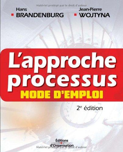 L'approche processus: Mode d'emploi