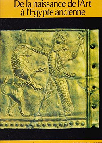 De la naissance de l'art à l'Egypte ancienne [auteur : BONICATTI, Maurizio] [éditeur : Hachette] [année : 1963] par Maurizio BONICATTI
