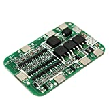 HITSAN 5pcs PCB BMS 6S 15A 24V Battery Protection Board For 18650 Li-ion Lithium Battery Cell One Piece