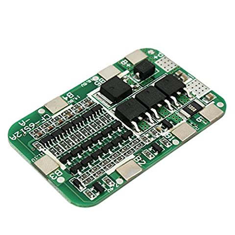 Bluelover PCB BMS 6S 15A 24V Battery Protection Board For 18650 Li-ion Lithium Battery Cell