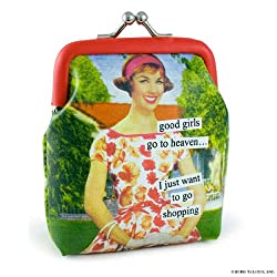 ANNE TAINTOR Coin Purse - Good Girls Go To Heaven...