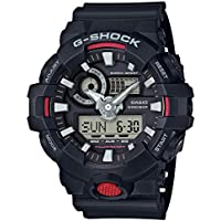 Casio G-Shock Analog-Digital Black Dial Men's Watch - GA-700-1ADR (G714)