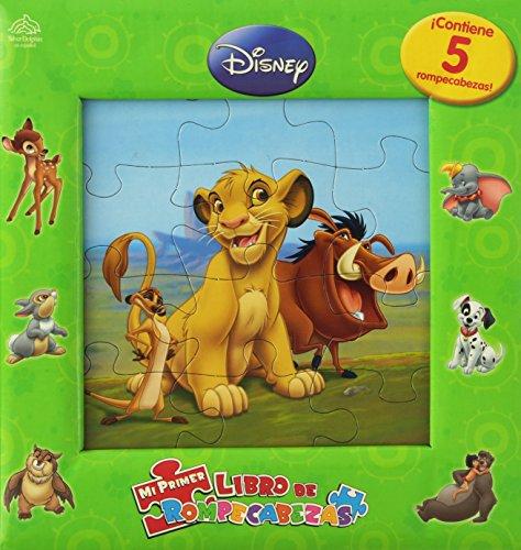 Mi primer libro de rompecabezas/My First Puzzle book (Disney animales/Disney Animals) por Amy Paradis