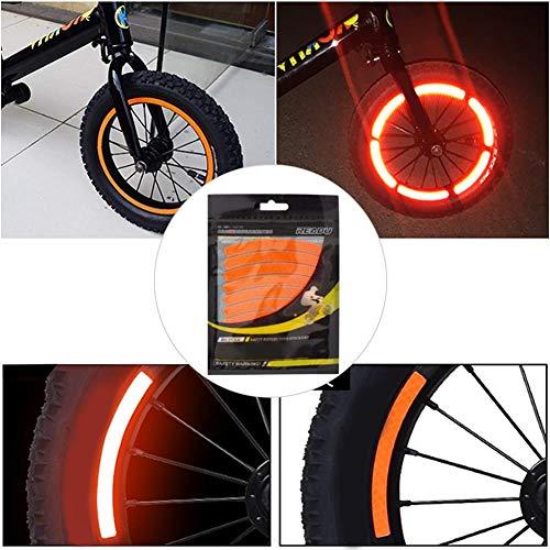 Ksruee 3M Fahrrad Reflektierende Aufkleber, Wasserdicht… | 00052298849250