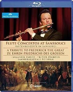 Tribute To Frederick Great (Flute Concertos At Sanssouci) (Emmanuel Pahud / Kammerakademie Potsdam/ Trevor Pinnock ) (C Major: 711404) [Blu-ray] [2011] [2012]