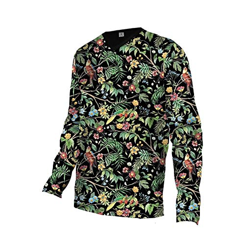 Uglyfrog Bike Wear Atmungsaktiv Trendy Herren Downhill/MTB Jersey Mountain Bike Shirt Fahrradtrikot Langarm Freeride BMX Frühling Top MF06