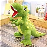 zbinbin Juguete De Peluche Dinosaurio Muñeca Tyrannosaurus Rex 90Cm Verde