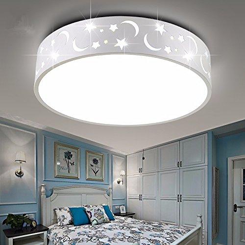 Deckenlampe Kinderzimmer Leuchten Schlafzimmer Leuchten jungen Mädchen warm romantischen Star Cartoon Spotlight Kreative 380 Cm, weiße LED Romantische Bad-accessoires