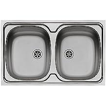 Amazon.it: lavello acciaio inox 2 vasche