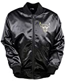 New Era Herren Jacken / Bomberjacke BNG Chicago Bulls Sateen Bomber schwarz XL