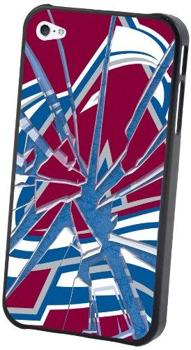 Pangea Brands NHL Colorado Avalanche Schutzhülle für iPhone 4 / 4S (Glas) Colorado Avalanche Iphone