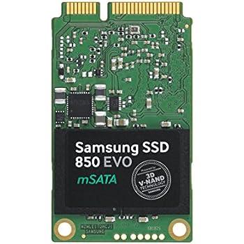 Samsung MZ-M5E1T0BW SSD 850 EVO, 1 TB, Msata, SATA III, Verde/Oro