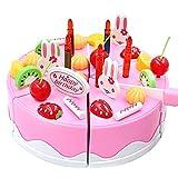 MingXiao 75 Teile/Satz Emulational Kuchen Modelle Spielzeug für schaufenster Kunststoff Küche Geburtstag Kuchen Spielzeug Geschenk Für Kinder Kinder Mädchen