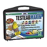 JBL 2550300 Professioneller Testkoffer zur exakten Meerwasser-Analyse, Testlab Marin