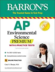 AP Environmental Science Premium: With 5 Practice Tests (Barron's Test P