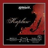 D\'Addario K413LH Kaplan Corde seule Sol pour AltoEchelle longue Tension Lourd Rouge