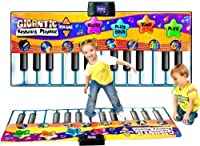 Childrens Giant Electronic Keyboard Piano Musical Playmat Toy Instrument