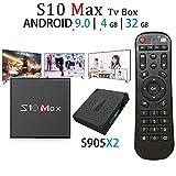 MaxDigi S10 Max Android 9.0 TV BOX S905X2 4GB RAM 32GB ROM, 2019