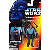 "'Lando Calrissian bespin ""The Empire Strikes Back Red Card – Star Wars Power of the force Collection de Hasbro/connaisseurs"