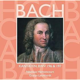 """Cantata No.197 Gott ist unsre Zuversicht BWV197 : IV Recitative - """"Drum folget Gott und seinem Triebe"""" [Bass]"""