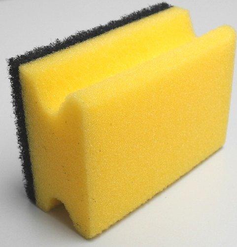 Meiko Topfreiniger 95x70x45mm gelb/schwarz mit Griff
