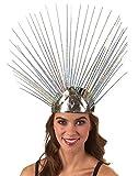 Unbekannt Strahlen-Stirnband in Silber Metallic | Einheitsgröße Erwachsene |