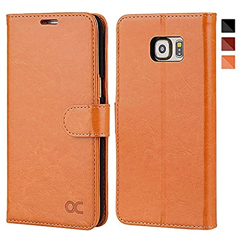 Etui Porte Carte Galaxy S6 - OCASE Coque Samsung Galaxy S6 edge Plus