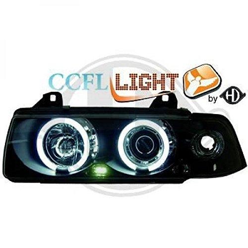 Occasion, CCFL Angel Eyes Phare Set BMW E36Coupé/Cabrio Bj 92-98verre d'occasion  Livré partout en Belgique