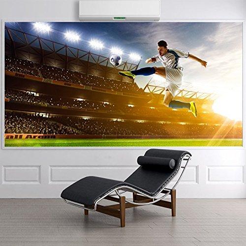 Calcio giocatore calcia il pallone Sports Wall Mural Giochi & Carta da parati Hobby Foto disponibile in 8 taglie Extra-Small Digitale